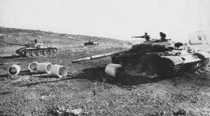 טנקים סורים פגועים