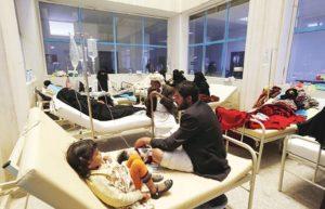 ארגון הרופאים: מגיפת כולירע מאיים על 7 מיליון איש בתימן