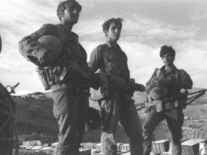 חיילים לאחר כיבוש החרמון