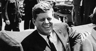 """נשיא ארה""""ב ג'ון קנדי"""
