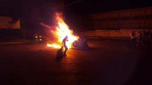 הרכב השרוף. ישראל ניוז