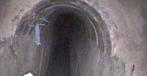 """פיר המנהרה. צילום: דובר צה""""ל"""
