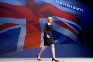 ראש ממשלת בריטניה תרזה מיי. צילום: רויטרס