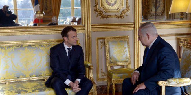 """בנימין נתניהו בארמון האליזה: """"ירושלים היא בירת ישראל כמו שפריז היא בירת צרפת"""""""
