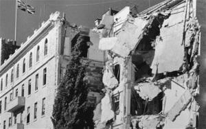 פיצוץ מלון המלך דוד בירושלים