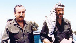אבו גיהאד עם יאסר עארפת