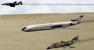 אילוסטרציה: המטוס הלובי לצד מטוסי חיל האוויר