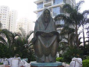 פסל התפילה ברמת גן לזכר הרוגי הפרהוד