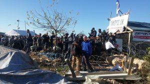 צילום: מטה המאבק נתיב האבות