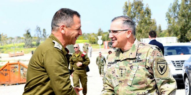 תרגיל ג'וניפר קוברה 2018: מפקד הפיקוד האירופי של צבא ארצות-הברית הגיע לישראל