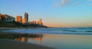 חוף בת ים. צילום: דוברות עיריית בת ים