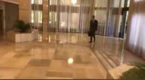 אסאד מגיע לעוד יום עבודה בארמונו