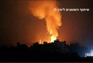 הפגזות מסיביות על סוריה