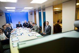 הקבינט הצרפתי בישיבה מיוחדת