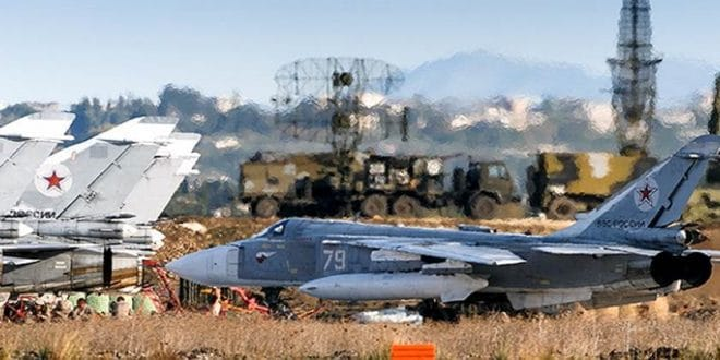 פיצוצים עזים בשדה התעופה הצבאי הרוסי חמימים בצפון סוריה