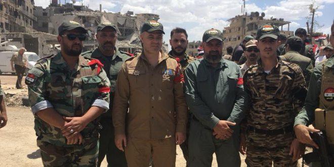 מפקד חטיבת אלקודס הפלסטינית, מוחמד סעד