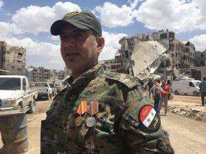 אבו סומאר מפקד בכיר בכוחות השדה של חטיבת אלקודס