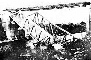 ליל הגשרים: גשר בנות יעקב המופצץ