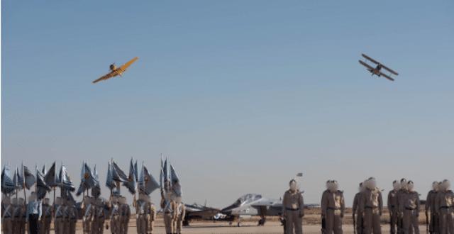 עוד מחזור של פרחי טייס סיימובהצלחה את הקורס בבסיס חצרים