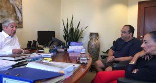 """במשרדו של עו""""ד דוד ליבאי, דודי מזרחי ואושרת אסף"""