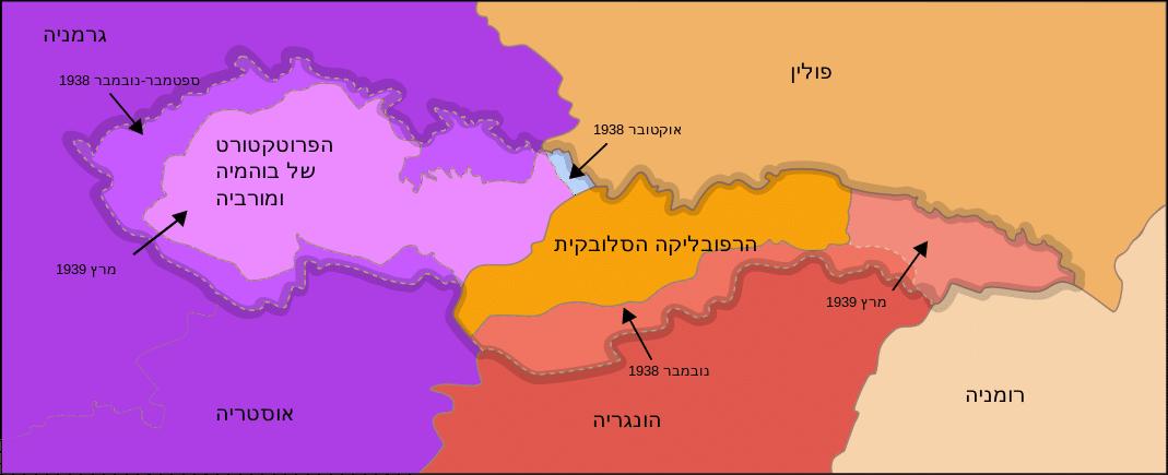 חלוקת צ'כוסלובקיה