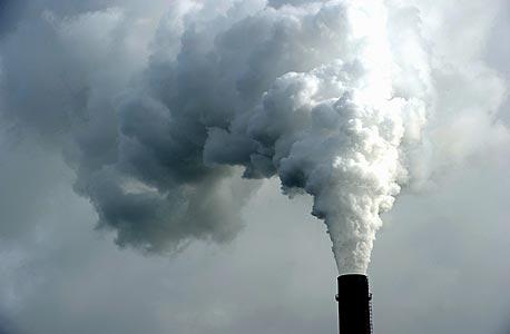 זיהום אוויר (אילוסטרציה)
