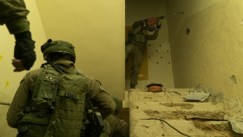 """מגבניקית נפגעה בהריסת ביתו של המחבל. צילום דו""""צ"""