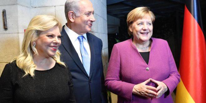 קנצלרית גרמניה אנג'לה מרקל הגיעה לביקור בישראל