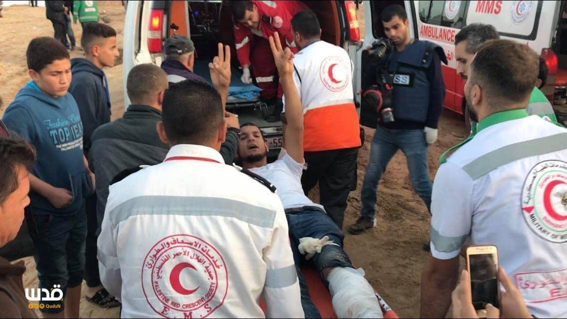העיתונאי שנפצע בעת סיקור