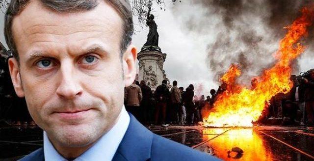 בעקבות ההפגנות הסוערות בצרפת: מקרון הכריז על מצב חירום חברתי וכלכלי