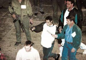 יגאל אמיר משחזר את רצח רבין