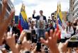 הפגנות ענק נגד נשיא ונצואלה: חואן גוואידו הכריז על עצמו כנשיא