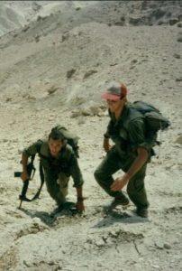 בצבא עם בנט: צילום מהאוסף הפרטי