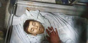 המחבל ההרוג יוסף אל-דייה, בן ה-15