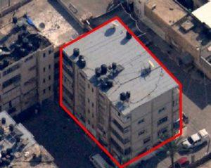 """בניין בטחון הפנים של החמאס. צילום: דו""""צ"""