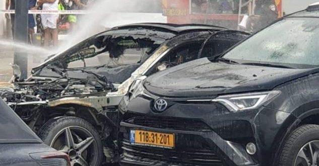 רכב התפוצץ בחניון רכבים באילת כל כיווני החקירה נבדקים