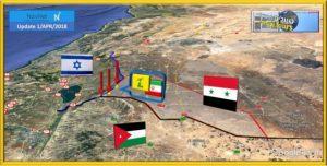 כוחות סורים הנאמנים לרוסיה מנעו כניסה החיזבאללה לאזור הגבול עם ישראל