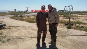 החיילים הסורים שצילמו את המטוסים האיראנים