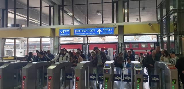 ברכבת ישראל צופים למיליון נסיעות שיבוצעו עד החג השני של פסח