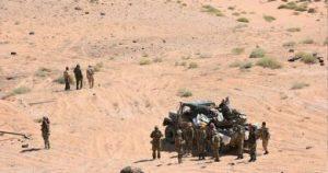 אבד הקשר עם שיירה סורית במדבר באזור חומס