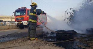 צילום: דוברות כיבוי אש