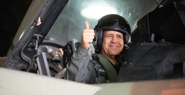 """הרמטכ""""ל אביב כוכבי בבסיס רמון: """"לכל אחד מכם יש חלק בהבטחת ביטחון ישראל"""""""