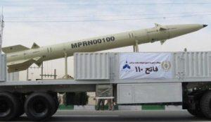 טילי פאתח-110 ששודרגו באיראן