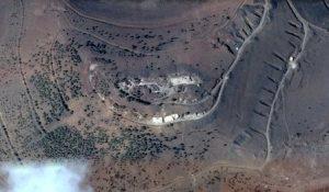 האתר המותקף בתל אלחארה