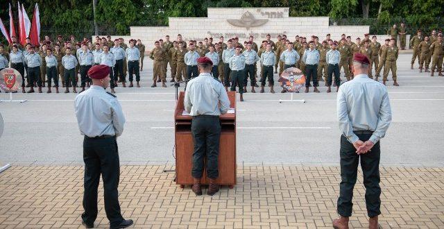 אלוף-משנה יובל גז מונה למפקד חטיבת הצנחנים