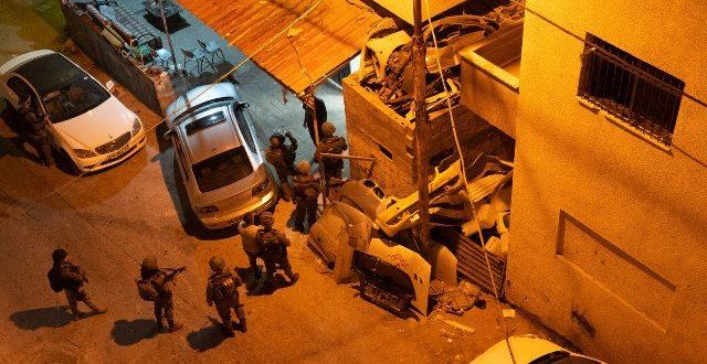 במבצע חטיבתי נרחב בקלקיליה נעצרו חשודים בגניבת רכבים וביצוע שודים אלימים