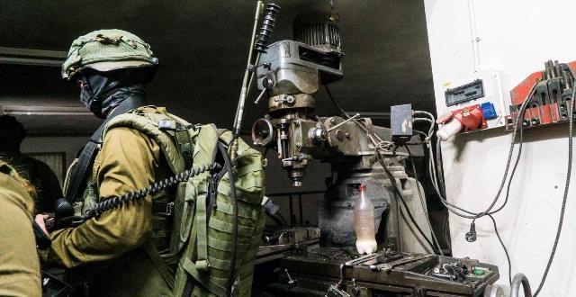במבצע משולב תפסו כוחות הבטחון 2 מחרטות ואמצעי לחימה בלתי חוקיים