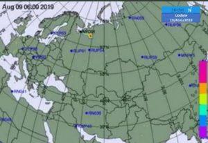 הענן הרדיואקטיבי בשערי ישראל: