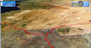 סוריה: אתרי התקיפה מאמש