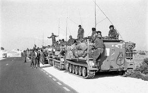 חיל שיריון בדרך לדרום